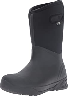 Men's Bozeman Tall Waterproof Warm Insulated Winter Work Rain and Snow Boot