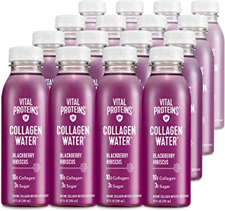 Vital Proteins Collagen Water™, 10g of Collagen per Bottle & Made with Real Fruit Juice, Dairy & Gluten Fre...