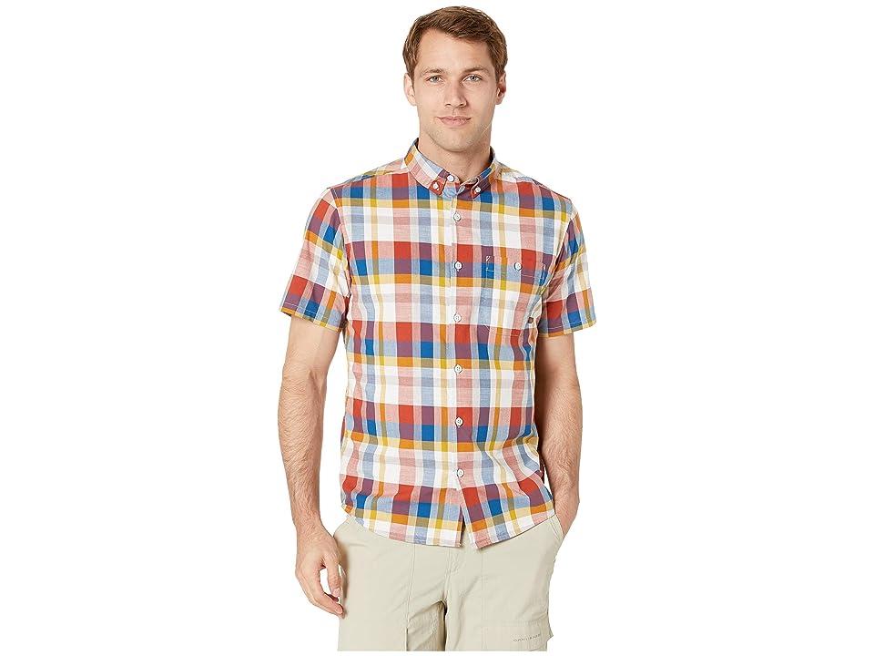Mountain Hardwear Big Cottonwoodtm Short Sleeve Shirt (Dark Copper) Men