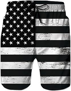 Best uideazone Men Swim Trunks Drawstring Elastic Waist Quick Dry Beach Shorts with Mesh Lining Swimwear Bathing Suits Review