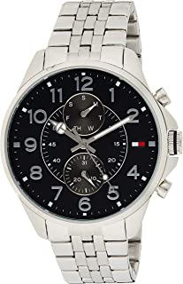 Tommy Hilfiger Men's Analogue Quartz Watch with Stainless-Steel Strap 1791276