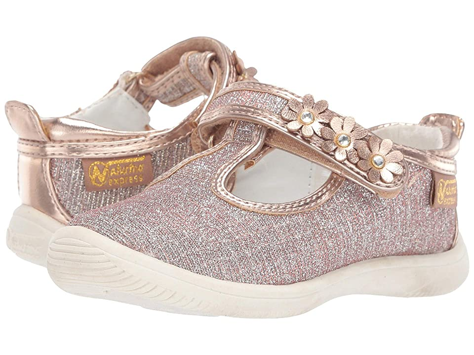 Naturino Express Primula (Toddler/Little Kid) (Rose Gold) Girl