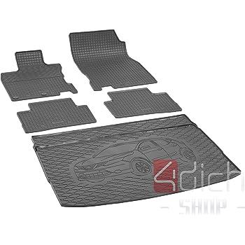 Gummimatten Gummi Fußmatten Satz Nissan Qashqai II ab 2013 2-teilig Vorne