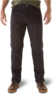 5.11 Tactical Defender-Flex Straight Jeans, Mechanical Stretch Fabric, Classic Pockets, Style 74477
