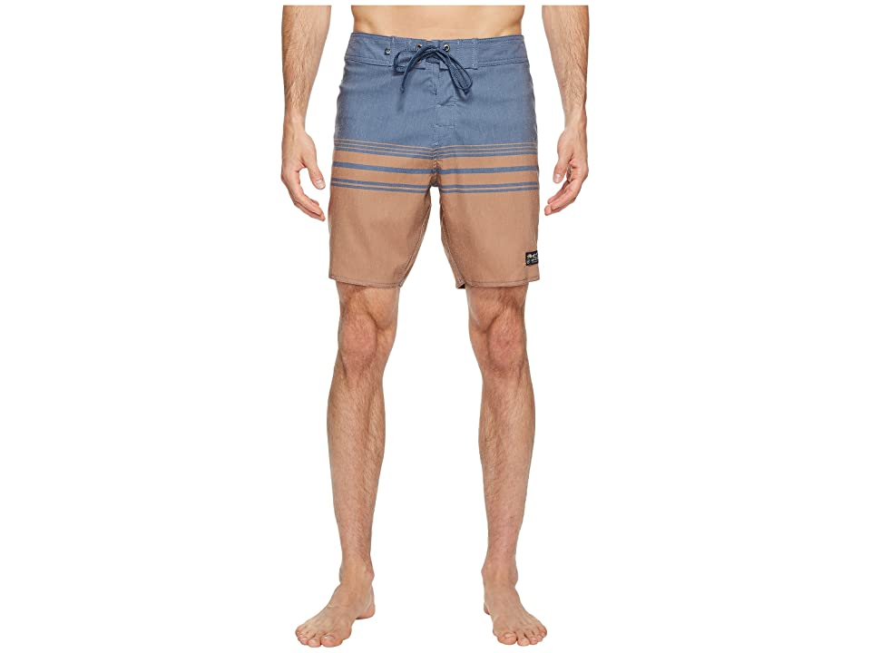 United By Blue Backwater Scallop Boardshorts (Tan) Men