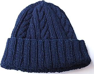 [インバーアラン] INVERALLAN Denim Yarn Cotton Knit Cap