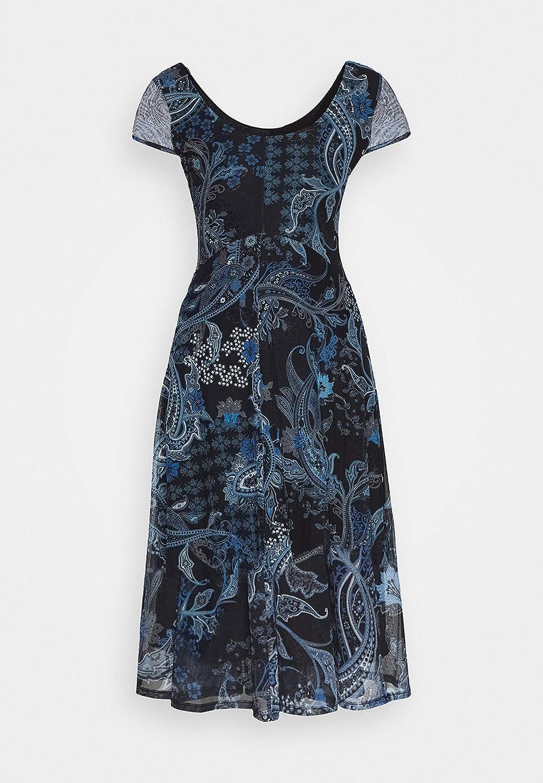 Desigual Damen Vest/_Capri Casual Dress