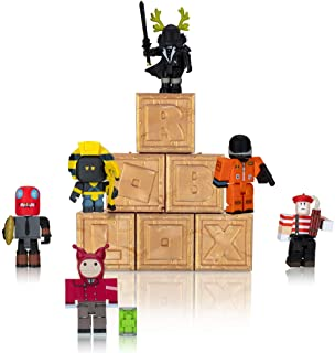 Roblox Action Collection - Series 8 Mystery Figure 6-Pack [Includes 6 Exclusive Virtual Items]