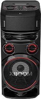 "LG Loud Speaker, Woofer 8"", Mid3""X2, Tweeter 2""X2"", Double Super Bass Boost, 2USB, Bluetooth, Vocal Sound Control - RN7"