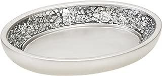 silver soap dish