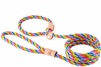 Alvalley Sport Slip Lead with Stop for Dogs 9mm X 6ft