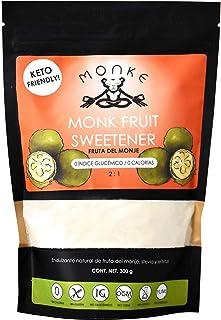 Monk Fruit Endulzante Natural Fruta del Monje Sin Calorías - MONKE
