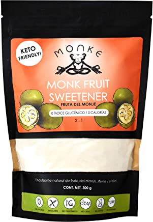Monk Fruit Endulzante Natural Fruta del Monje Sin Calorías - MONKE