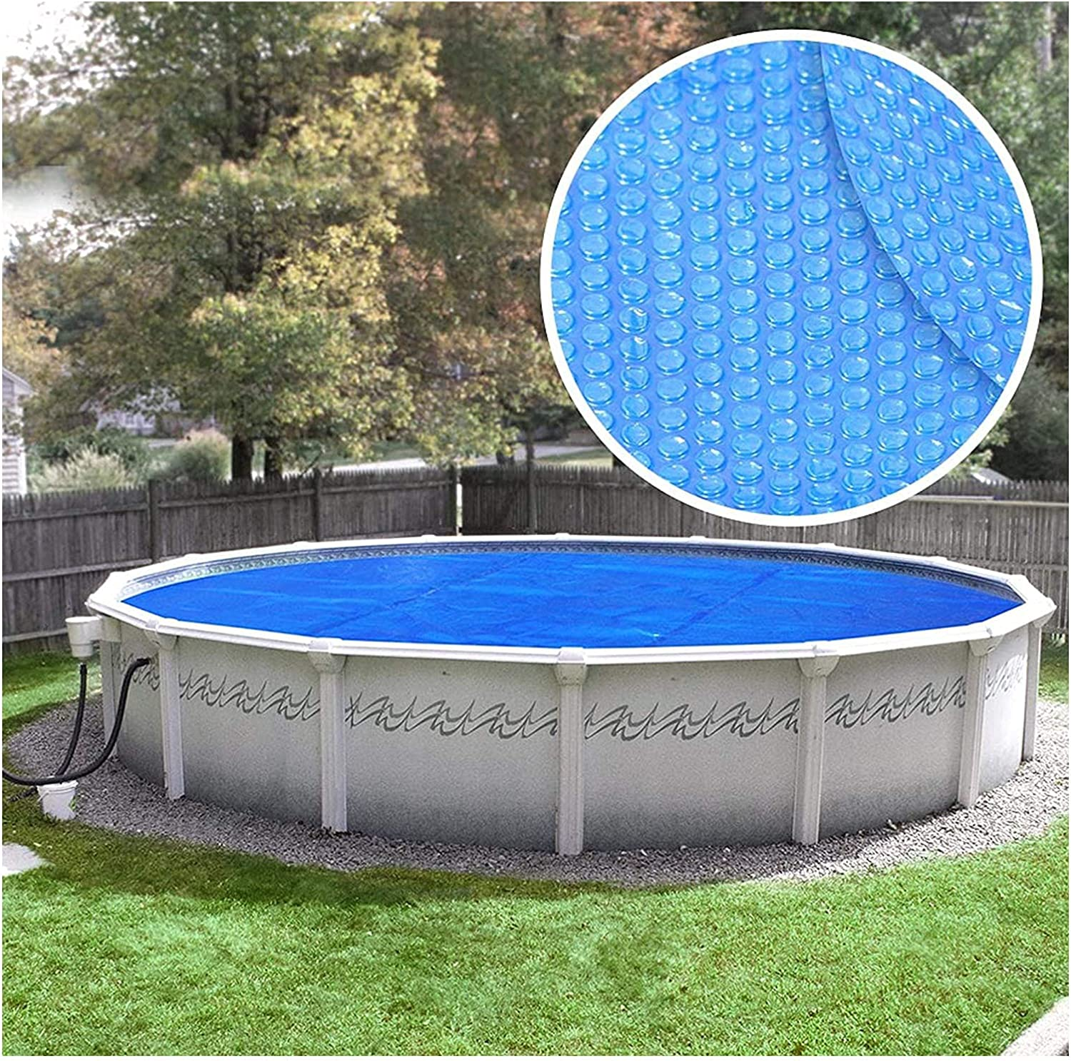 YANRU Solar Pool Covers for Free shipping / New Inground Th Round Popular standard - 4 Ft Blue