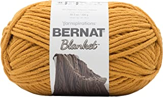 Bernat Blanket Yarn, 10.5 oz, Burnt Mustard, 1 Ball
