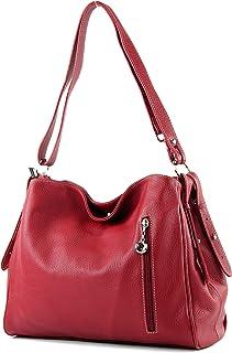 modamoda de - épaule ital/sac à bandoulière en cuir T119
