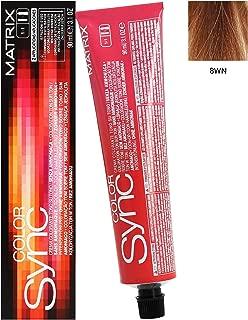 Matrix Color Sync Demi-Permanent Color 8WN Light Blonde Warm Neutral 3.1 Ounce 90 Milliliters
