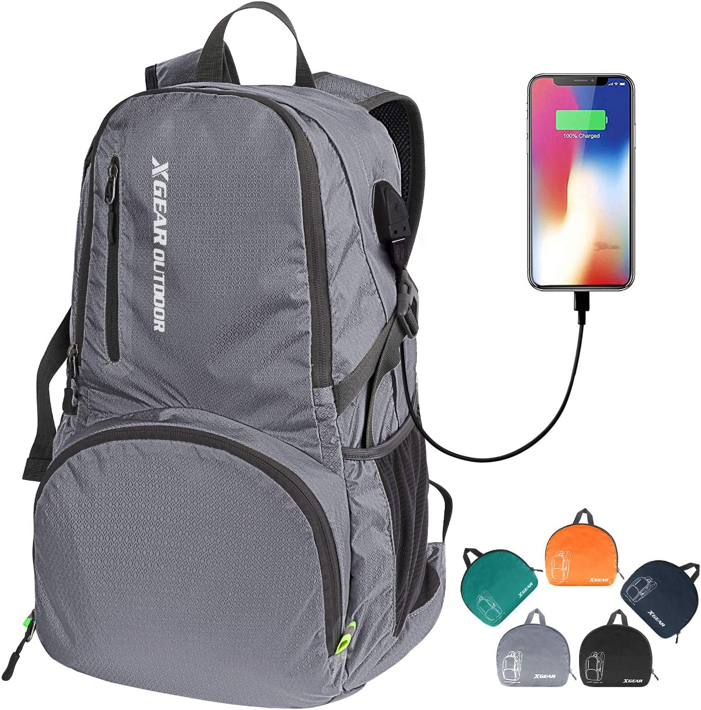 XGEAR 35L Ranking TOP5 Ultralight Packable Foldable Handy Be super welcome Daypack Backpack