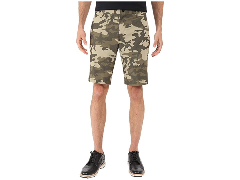 Nike Golf Modern Fit Print Shorts (Cargo Khaki/Medium Olive/Cargo Khaki/Wolf Grey) Men