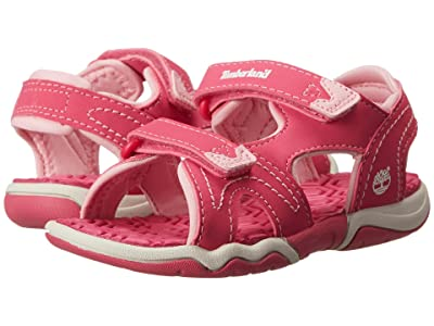 Timberland Kids Adventure Seeker 2 Strap Sandal (Toddler/Little Kid) (Pink) Kids Shoes