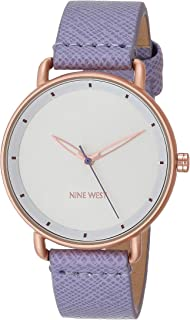 Women's Vegan Leather Strap Watch