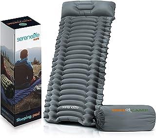 Backpacking Air Mattress Sleeping Pad - Self Inflating Waterproof Lightweight Sleep Pad Inflatable Camping Sleeping Mat w/...