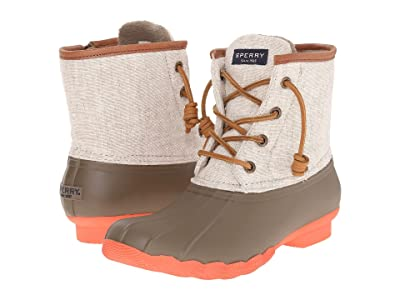 Sperry Saltwater Hemp Canvas (Taupe/Natural) Women