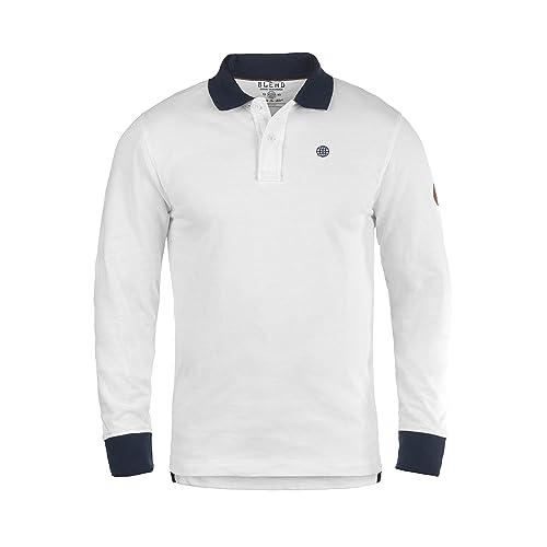 BLEND Ralle - Camiseta Polo para Hombre 14fab18e59cc6