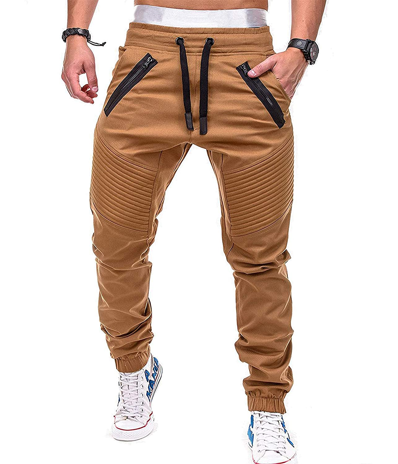 Mens Gym Jogger Pants Free shipping / New Training fit Slim Causa security Sweatpants Workout