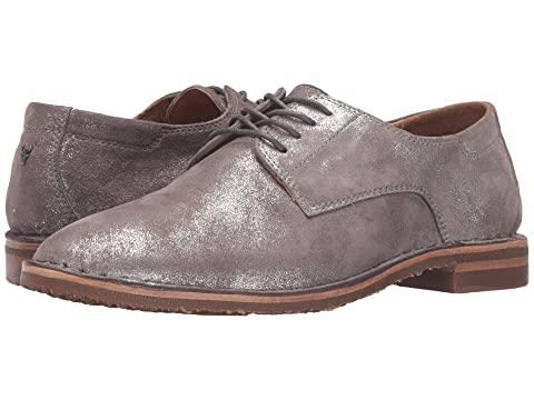 Shop Cheap Price Trask Ana Pewter Italian Metallic Suede Latest Collections Online Authentic Cheap Price Exclusive For Sale TXG4sdz