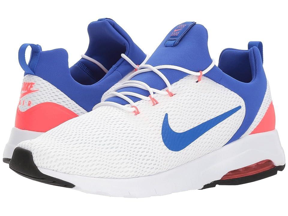 Nike Air Max Motion Racer (White/Ultramarine/Solar Red/Off-White) Men