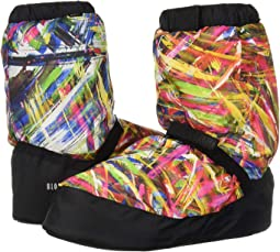 Printed Warm Up Booties