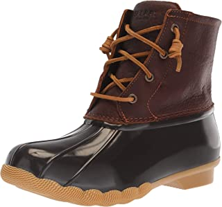 brown duck boots sperry