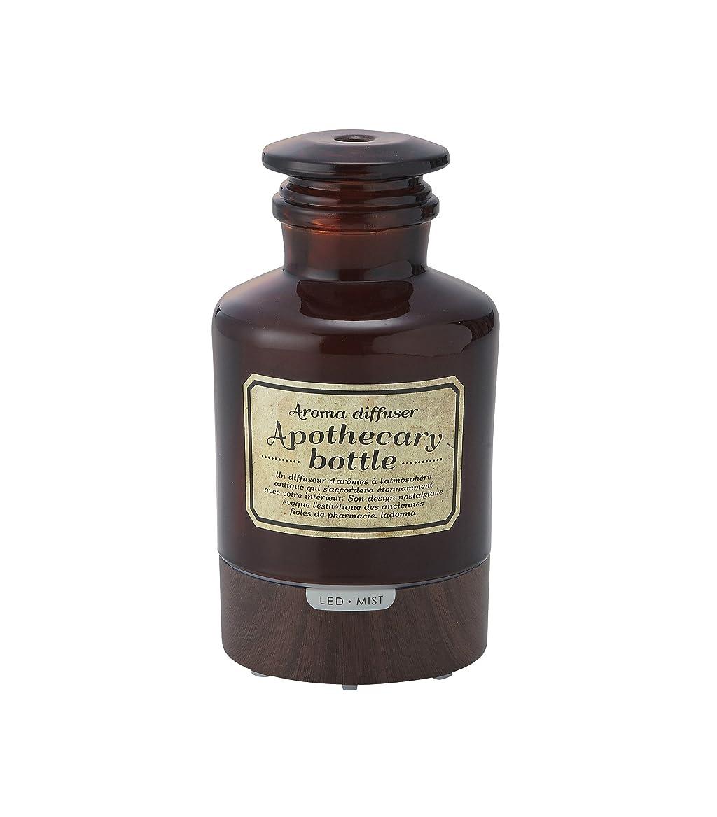 疲労摂氏偉業ラドンナ アロマディフューザー アポセカリーボトル ADF21-AB ブラウン