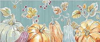 Trademark Fine Art Pumpkin Patch IX by Daphne Brissonnet, 14x32, Multiple