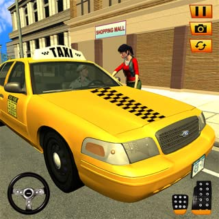 New York Passenger Taxi Driver- Car Driving Games