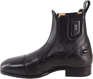 Tredstep Medici II Paddock Boots Double Zip Black Size EUR 41