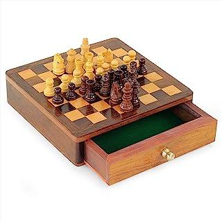 Chess Board with Drawer | Board Games | Nagina International