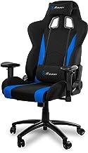 Cadeira de jogos Arozzi Inizio de tecido ergonômico com costas altas, função de balanço e reclinação