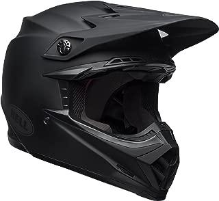 Bell Moto-9 MIPS Off-Road Motorcycle Helmet (Solid Matte Black, Medium)