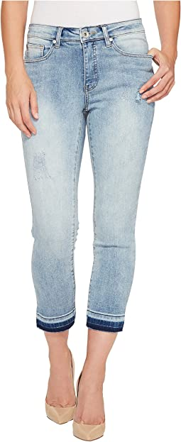"Girlfriend Fit 26"" Summer Fling Jeans in Dusty Blue"