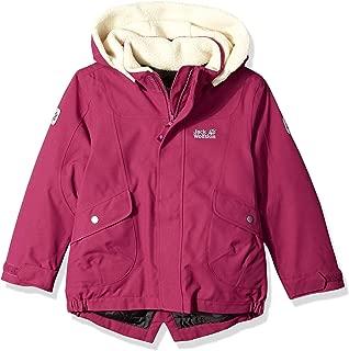 Jack Wolfskin Girl's Great Bear Waterproof Sherpa Insulated Jacket