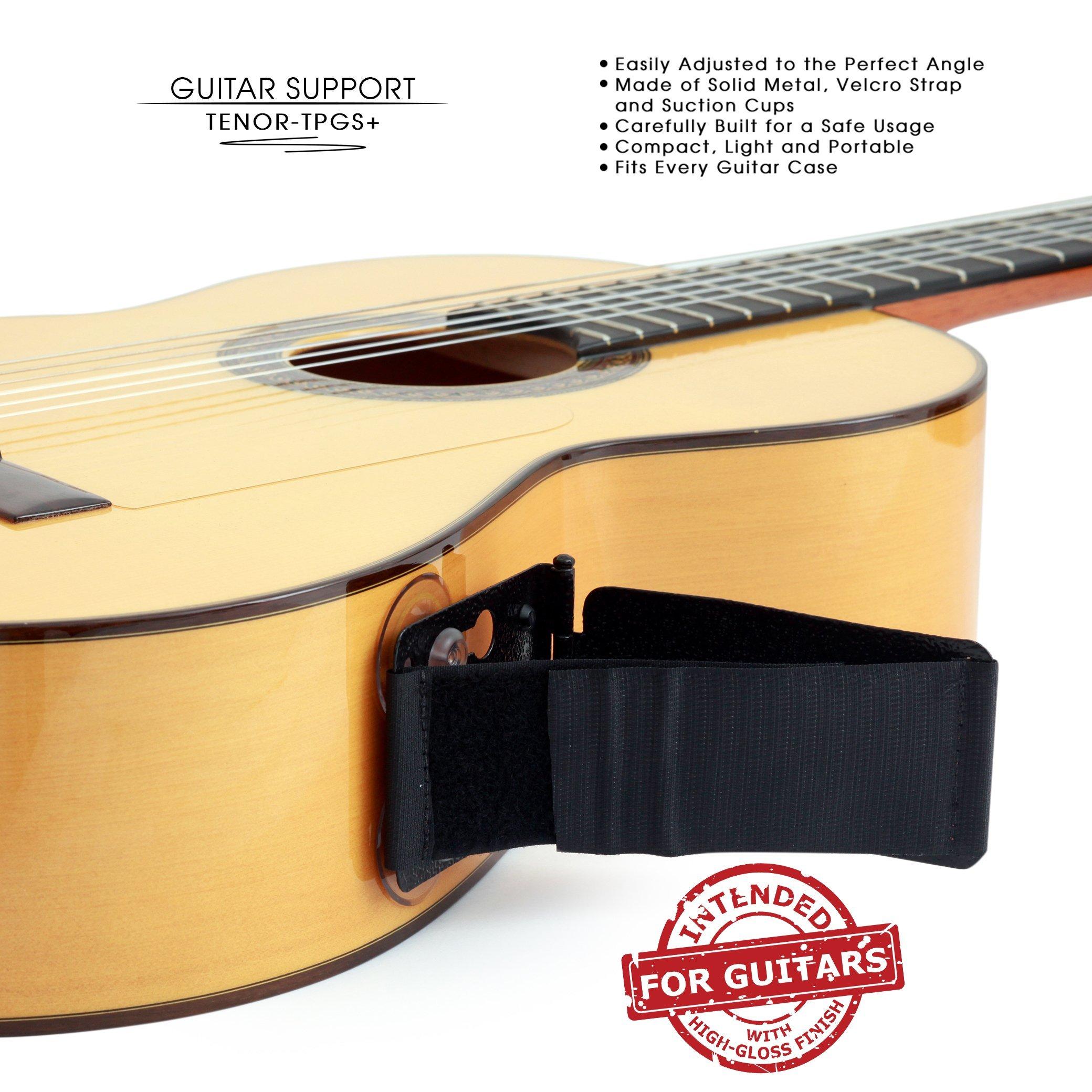 Tenor TPGS+ Soporte ergonómico profesional para guitarra ...