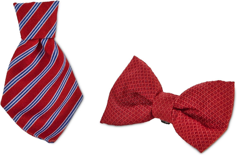 Bond & Co. Red Bowtie 2 Pack, Standard