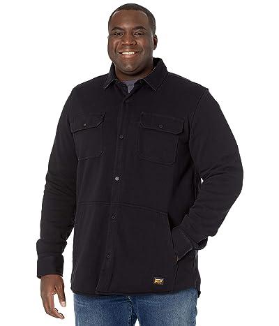 Timberland PRO Mill River Fleece Shirt Jacket Tall (Jet Black) Men