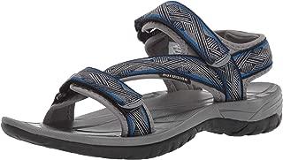 Men's Aldrin Sandal, Dark Gray/Blue, 12 M US