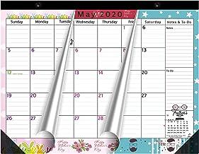 Magnetic Calendar 2020-2021 for Fridge by StriveZen, 17×12 inch, Large Monthly April..