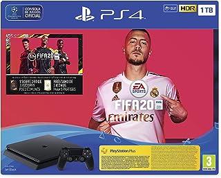 comprar comparacion PlayStation 4 (PS4) +FIFA20/FUTVCH/PS y 14 días VCH/PS4 1TBF/SPA, Slim 1TB