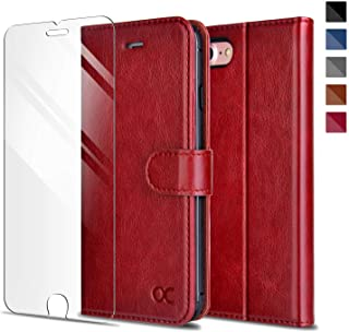 iphone 7 wallet case red