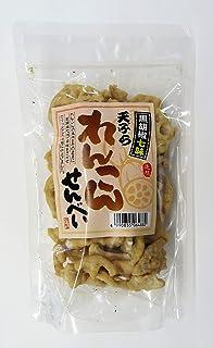 ケーアイフーズ 黒胡椒七味れんこんせんべい 90g×2袋